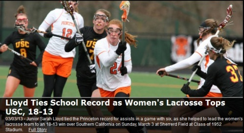 USC Women's Lacrosse vs Princeton