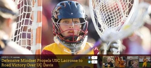 USC Women's Lacrosse vs UC Davis