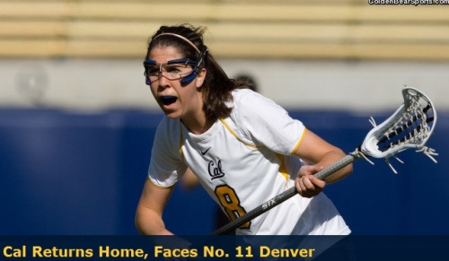 Cal Berkeley Women's lacrosse vs denver