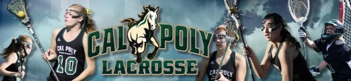 Cal Poly Women's Lacrosse Banner
