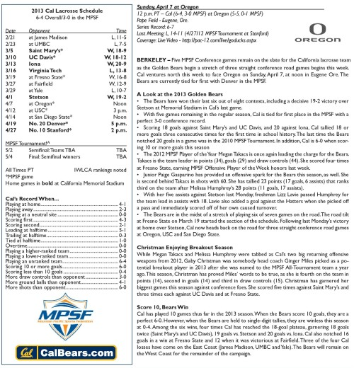 Cal vs Oregon Game Notes-page-001