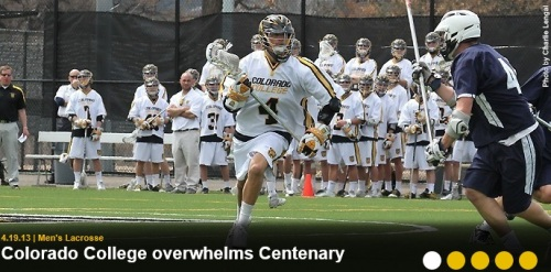 Colorado College Men's Lacrosse vs Centenary