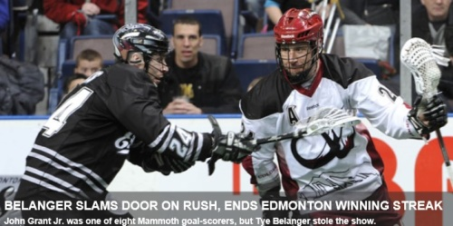Colorado Mammoth vs Edmonton