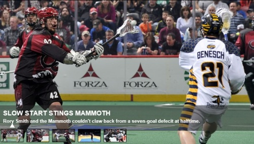 Colorado Mammoth vs Minnesota Swarm