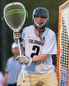 Colorado Men's Lacrosse Goalie Brad Macnee