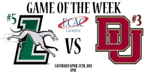 Denver Men's Lacrosse vs Loyola ECAC Game of the Week