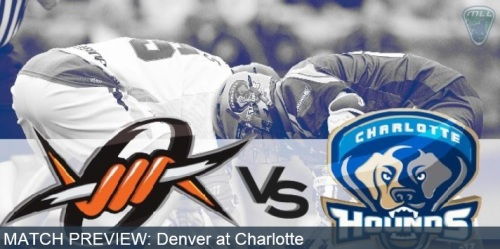 Denver Outlaws at Charlotte Hounds