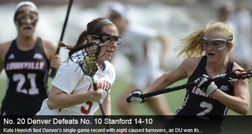 Denver Women's Lacrosse vs Stanford