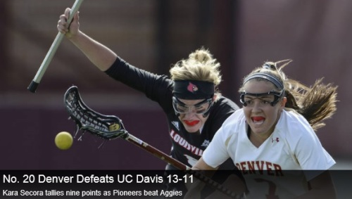 Denver Women's Lacrosse vs UC Davis