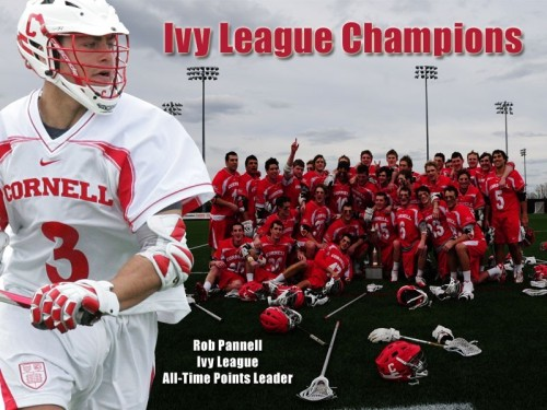 Ivy League Men's Lacrosse 2013 Champion Cornell