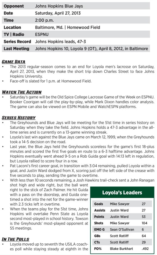 Loyola Men's Lacrosse game notes-page-001