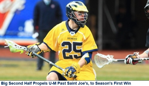 Michigan Men's Lacrosse vs Saint Joseph's