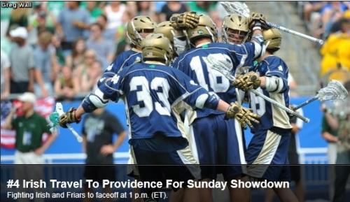 Notre Dame Men's Lacrosse vs Providence