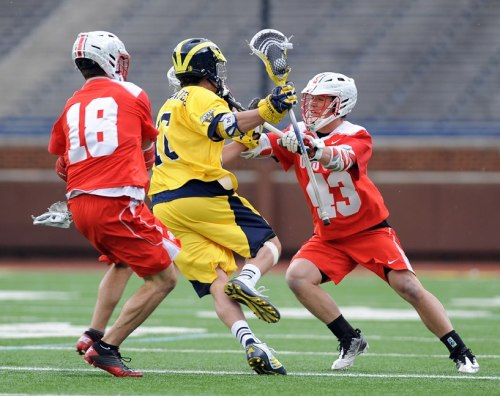 Ohio State Men's Lacrosse vs Michigan IV