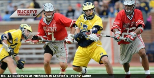 Ohio State Men's Lacrosse vs Michigan
