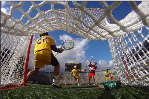 Ohio State Men's Lacrosse vs Michigan at The Big House