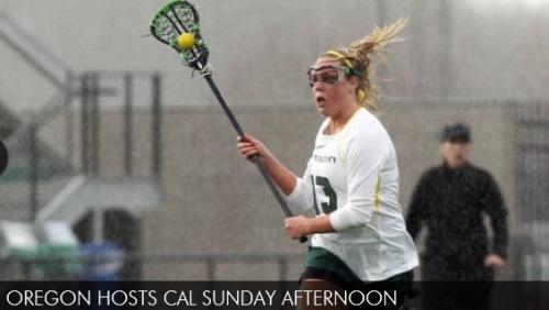 Oregon Women's Lacrosse vs Cal