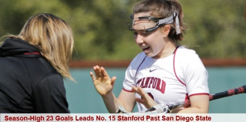 Stanford Women's Lacrosse vs San Diego State