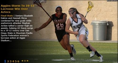 UC Davis Women's Lacrosse vs San Diego State