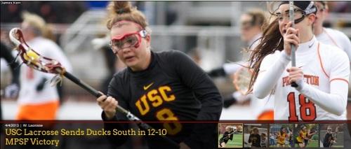 USC Women's Lacrosse vs Oregon