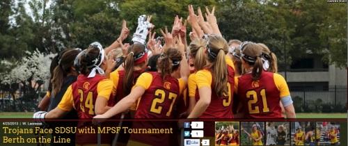 USC Women's Lacrosse vs San Diego State