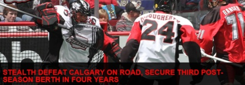 Washington Stealth vs Calgary