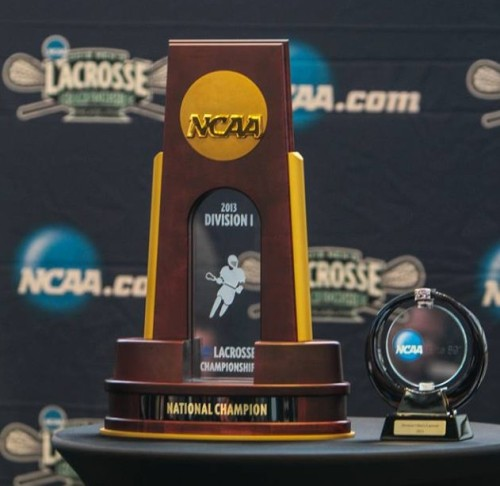 2013 NCAA Men's Lacrosse Championships Media Day Trophies