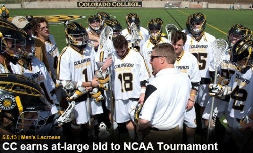 Colorado College Men's Lacrosse NCAA Tournament Bid