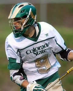 Colorado State Men's Lacrosse Attacker Austin Fisher