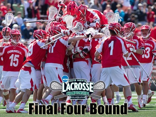 Cornell Men's Lacrosse 16-6 Win over Ohio State 2013 NCAA Lacrosse Championships