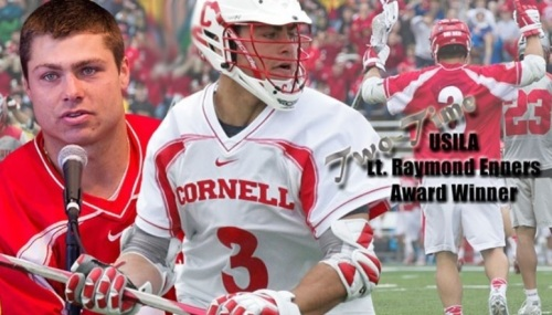 Cornell Men's Lacrosse Attacker Rob Pannell USILA Player of the Year