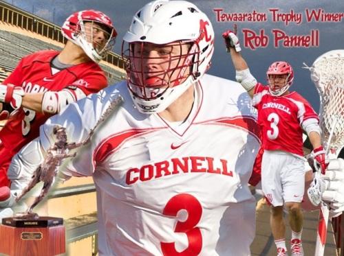 Cornell Men's Lacrosse Rob Pannell 2013 Tewaaraton Trophy Winner