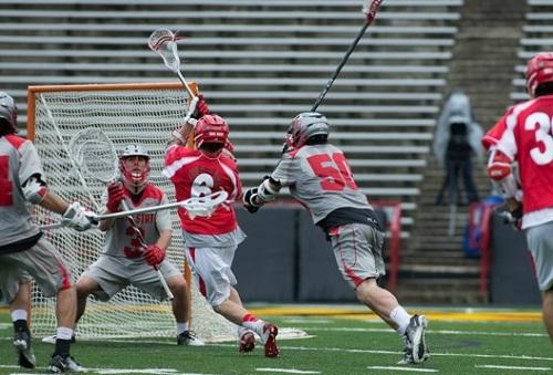 Cornell Men's Lacrosse vs Ohio State 2013 NCAA Lacrosse Championships 4
