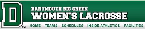 Dartmouth Women's Lacrosse