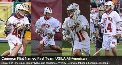 Denver Men's Lacrosse 2013 USILA All-Americans