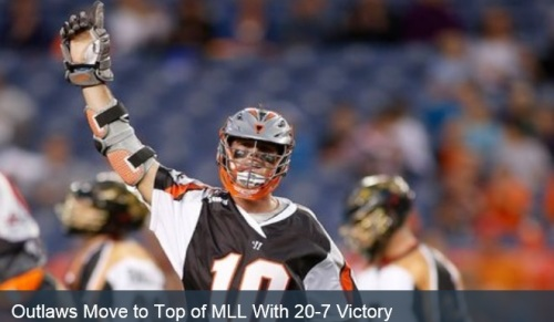 Denver Outlaws vs Rochester Rattlers 20-7 win