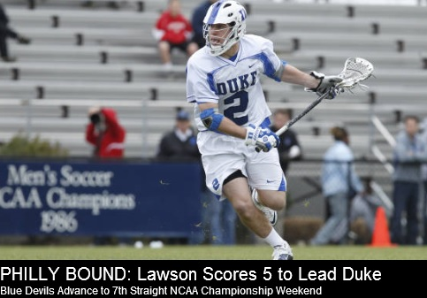 Duke Men's Lacrosse vs Notre Dame 2013 NCAA Men's Lacrosse Championships