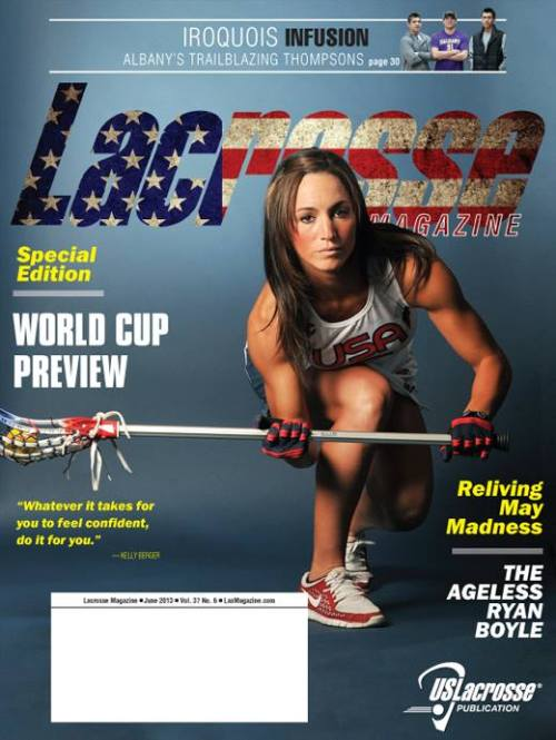 Lacrosse Magazine June 2013