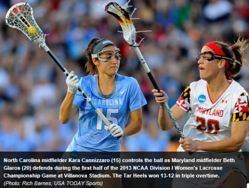 North Carolina Women's Lacrosse vs Maryland 2013 NCAA Women's Lacrosse championships
