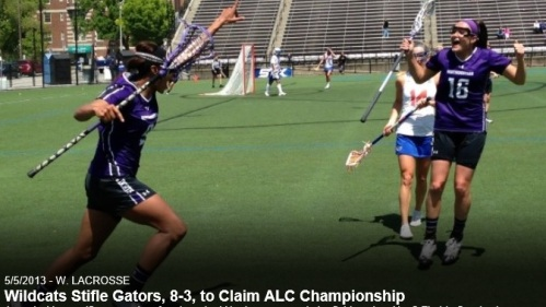 Northwestern Women's Lacrosse vs Florida ALC Championship