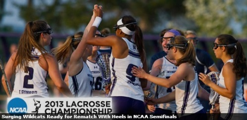 Northwestern Women's Lacrosse vs North Carolina NCAA Semifinals