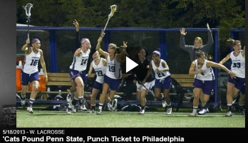 Northwestern Women's Lacrosse vs Penn State 2013 NCAA Women's Lacrosse Championships