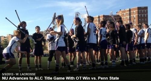 Northwestern Women's Lacrosse vs Penn State ALC
