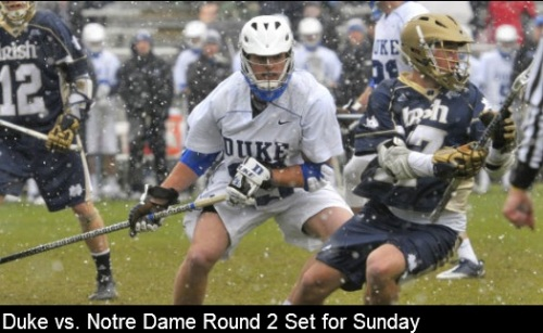 Notre Dame Men's Lacrosse vs Duke 2013 NCAA Men's Lacrosse Championships