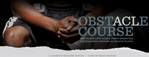 Obstacle Course Article On Knee Reconstruction Surgery Champions Magazine