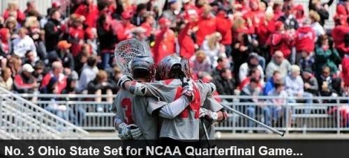 Ohio State Men's Lacrosse 2013 NCAA Lacrosse Championships vs Cornell