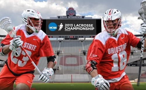 Ohio State Men's Lacrosse vs Towson 2013 NCAA Men's Lacrosse Championships