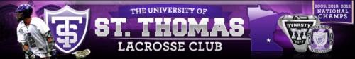 St. Thomas Men's Lacrosse banner