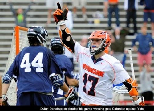 Syracuse Men's Lacrosse vs Yale 2013 NCAA Men's Lacrosse Championships