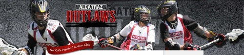 Alcatraz Outlaws Lacrosse Team Banner